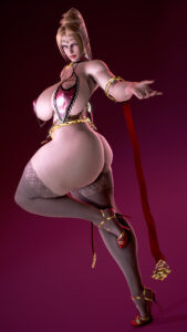 doa-free-sex-art-–-white-skin,-ninja-gaiden,-mascara,-massive-ass,-looking-at-viewer.