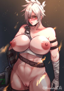 league-of-legends-hentai-xxx-–-erect-nipples,-breasts,-muscles,-riot-games,-belt,-riven,-thick-thighs.