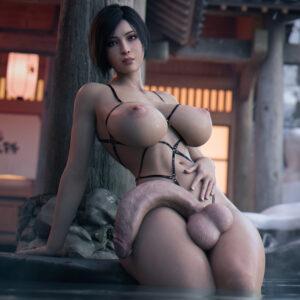 resident-evil-porn-–-futanari,-huge-cock,-breasts,-erection,-futa-only,-nipples.