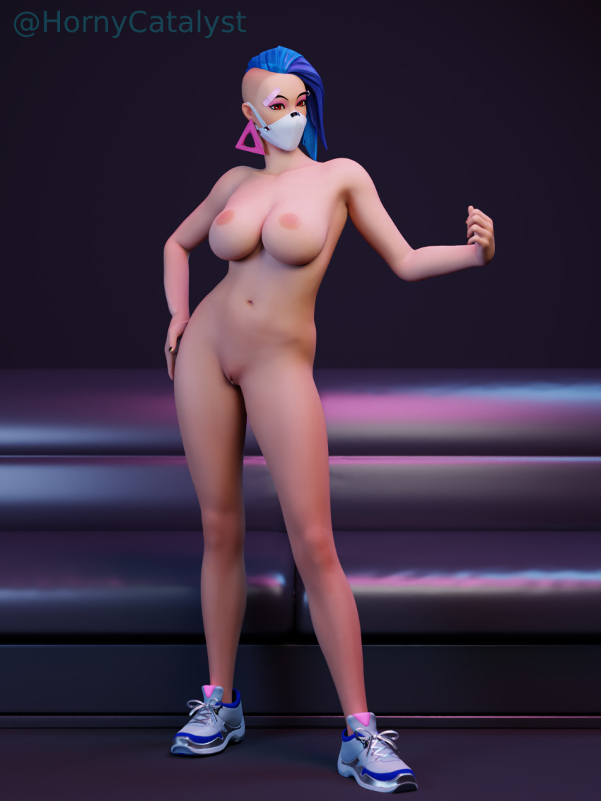 catalyst-free-sex-art-–-nude-variant,-big-breasts,-posing,-blue-hair,-horny-catalyst.