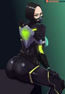 viper-hentai-porn-–-bubble-butt,-black-hair