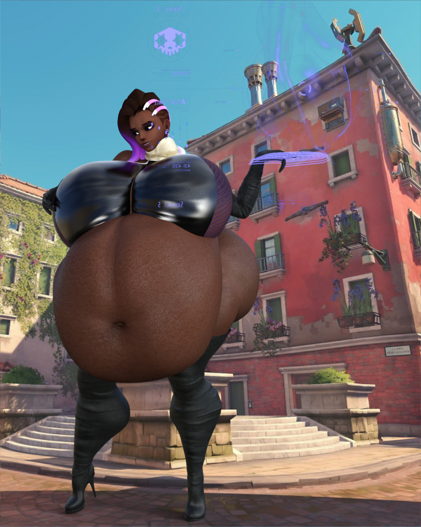 overwatch-sex-art-–-hyper-belly,-obese,-ssbbw,-fat,-slightly-chubby