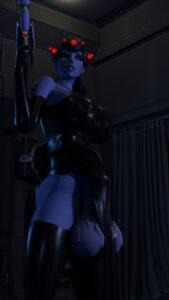 overwatch-rule-xxx-–-elbow-gloves,-blue-hair,-futanari,-large-testicles