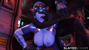overwatch-xxx-art-–-s,-purple-skin,-looking-at-viewer,-areolae,-dark-skin
