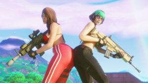 ruby-xxx-art,-sunny-xxx-art-–-ass-focus,-pants,-blender,-bra,-multicolored-hair,-weapon