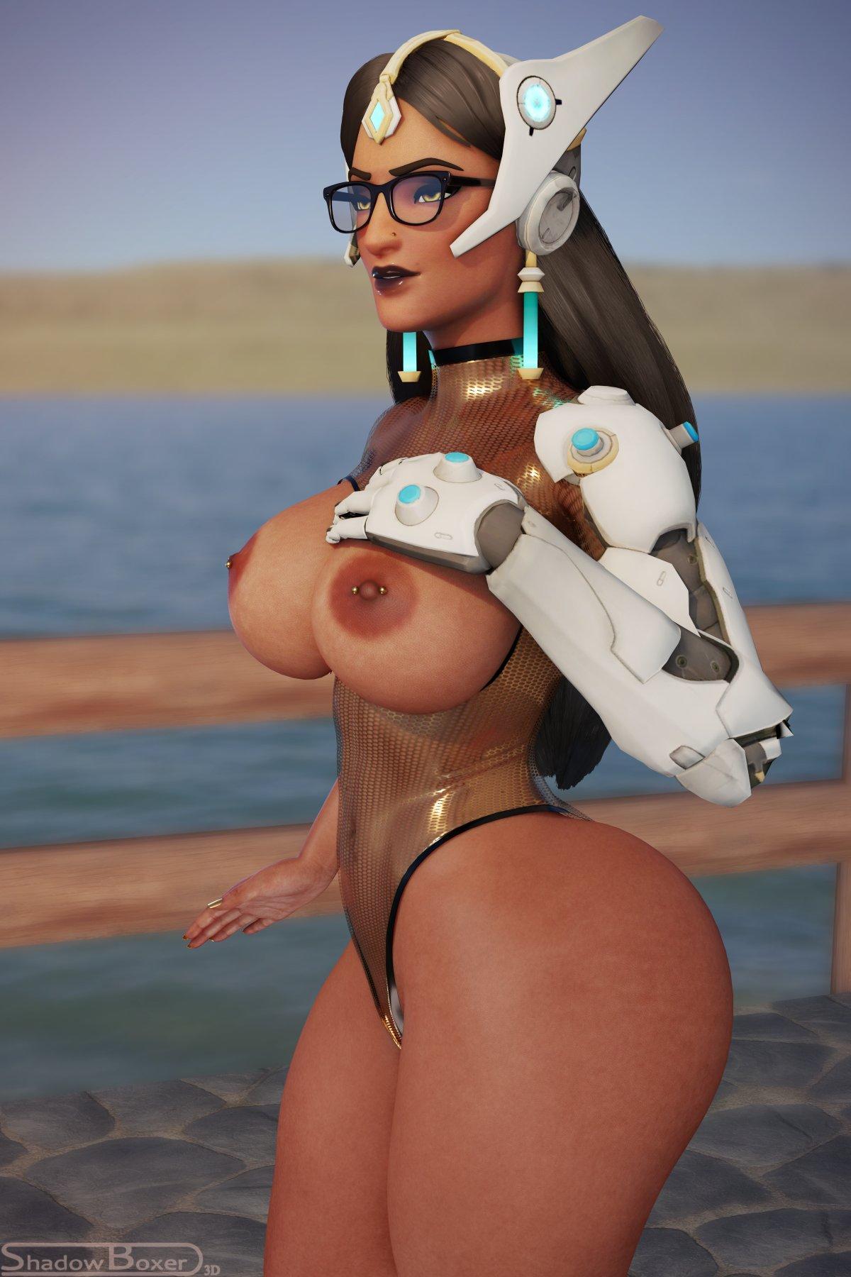 overwatch-hentai-art-–-big-breasts,-large-breasts,-solo,-dark-skinned-female,-blender,-shadowboxer