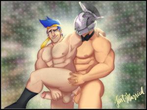ninja-game-porn-–-male-focus,-bara,-cum,-wedding-ring,-male-only