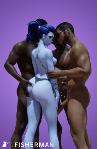 overwatch-free-sex-art-–-sideboob,-breasts,-blizzard-entertainment,-tattoos