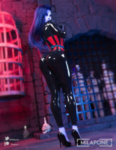 overwatch-porn-–-purple-hair,-hi-res,-female-only,-latex-suit,-corset