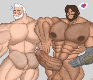 overwatch-rule-xxx-–-gab-art,-male,-penis,-gay,-big-penis,-balls