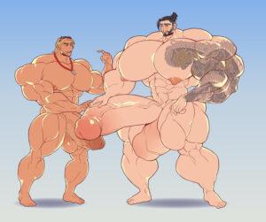 overwatch-hentai-porn-–-muscular-back,-hyper-muscles,-mccree,-bodybuilder,-hyper-balls,-muscular,-muscular-arms