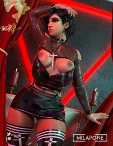 overwatch-game-hentai-–-miniskirt,-short-hair,-hi-res,-cross,-eyeshadow,-solo,-female