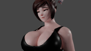 mei-free-sex-art-–-tight-clothes,-breasts,-theduudeman,-3d