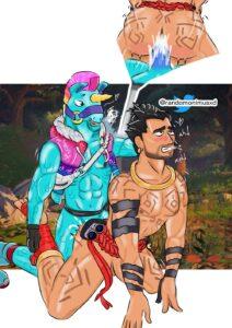 llambro-sex-art,-raz-sex-art-–-blue-body,-gay,-furry,-pounding