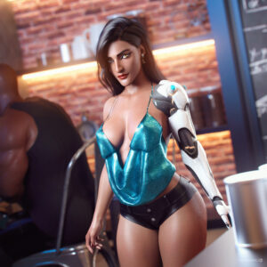 overwatch-rule-–-indian-female,-black-hair,-blizzard-entertainment,-symmetra,-indian,-busty