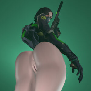 viper-porn-–-butt,-bottomless,-facemask,-anus,-wide-hips,-skimpy,-pale-skinned-female.