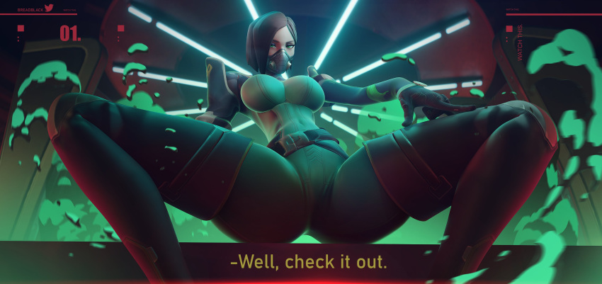 viper-sex-art-–-looking-at-viewer,-big-breasts,-absurdres,-female,-large-breasts,-breasts,-solo.