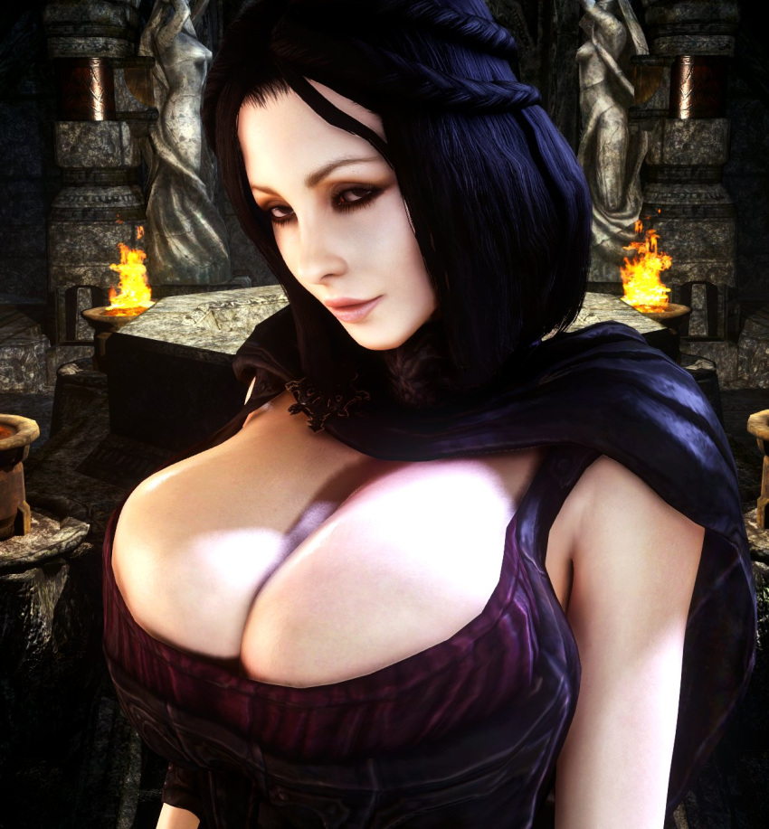 skyrim-porn-–-busty,-selene-(underworld),-female-only,-athletic,-virtamate.