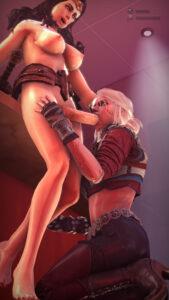 witcher-rulern-–-the-witcher-ild-hunt,-big-breasts,-big-ass,-squatting.