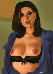 overwatch-xxx-art-–-breasts-outside,-tattoo,-lips,-young,-twinflame,-black-hair,-medium-breasts.