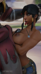 overwatch-hentai-–-doomfist,-tongue-out.