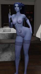 overwatch-rulex-–-standing,-stockings,-gun,-lingerie.