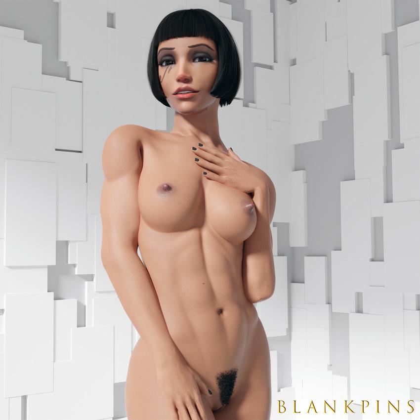 overwatch-xxx-art-–-pharah,-dark-skinned-female,-nude.