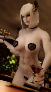 skyrim-rule-relliel,-breasts,-freckles,-abs,-c-string,-functionally-nude.