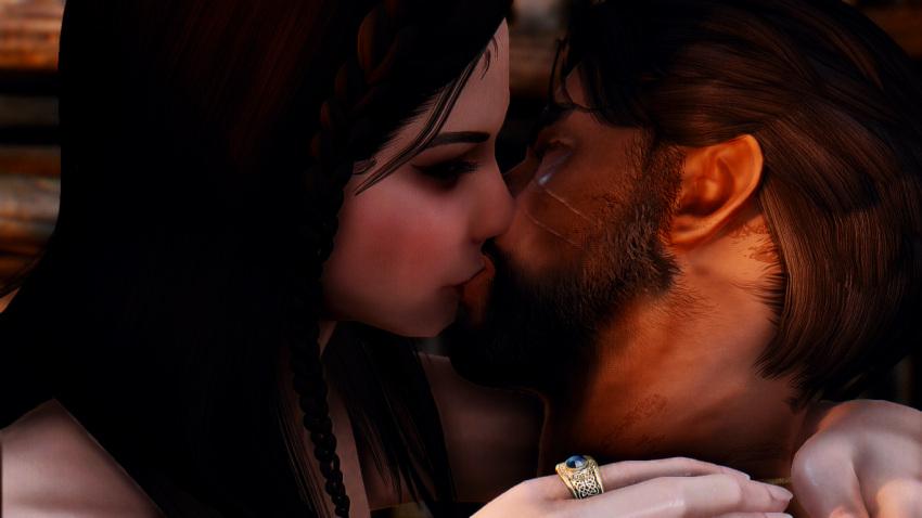 skyrim-hentai-art-–-dragonborn,-kissing,-passionate.