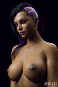 overwatch-hentai-xxx-–-topless,-solo,-eyeshadow,-purple-hair,-lipstick,-black-hair.