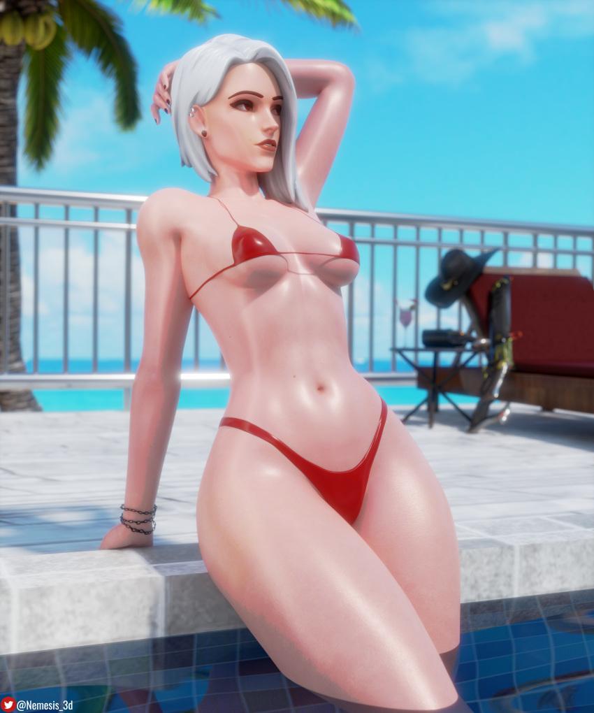 ashe-free-sex-art-–-underboob,-female,-bikini,-thighs,-shiny-skin.
