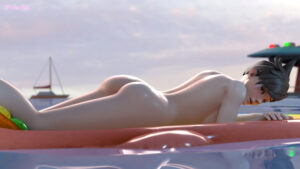 overwatch-hot-hentai-–-lying-on-stomach,-sunbathing,-ass,-parted-lips,-outside.
