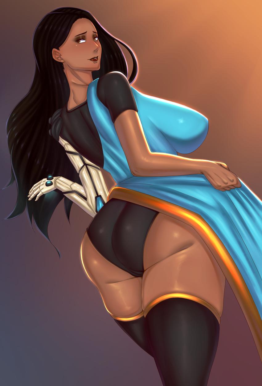 overwatch-rulern-–-dark-skin,-ls,-huge-ass,-ass,-large-breasts,-highres,-absurdres.