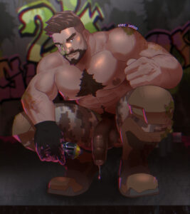 overwatch-game-hentai-–-male,-male-only,-hairy,-thick-eyebrows,-elec-bobo,-male-nipples.