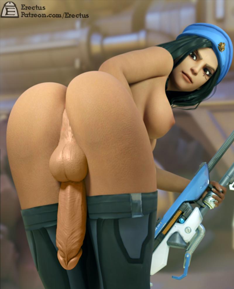 overwatch-porn-hentai-–-penis,-black-stockings,-black-hair,-dark-skinned-futanari.